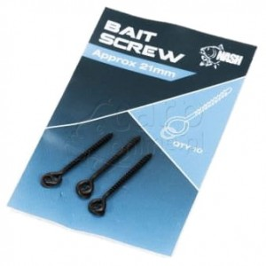 NASH Bait Screws 21mm - Wkrętki do przynęt