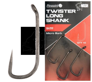 NASH Twister Long Shank - Haki