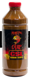 MISEL ZADRAVEC Monster Carp CSL Banana Scopex - Liquid 1L