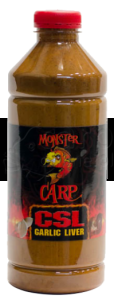 MISEL ZADRAVEC Monster Carp CSL Garlic Liver - Liquid 1L