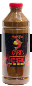MISEL ZADRAVEC Monster Carp CSL Plum Halibut - Liquid 1L