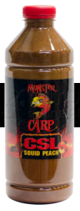 MISEL ZADRAVEC Monster Carp CSL Squid Peach - Liquid 1L