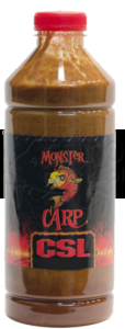 MISEL ZADRAVEC Monster Carp CSL Strawberry Fish - Liquid 1L