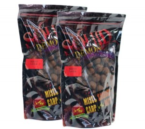 MISEL ZADRAVEC Squid Demon Squid Liver - Kulki 1kg
