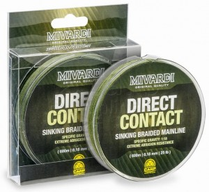 MIVARDI Direct Contact Sinking Braid 0,18mm 1200m - Plecionka