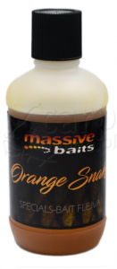 MASSIVE BAITS Special Bait Flejva Orange Snake 100ml