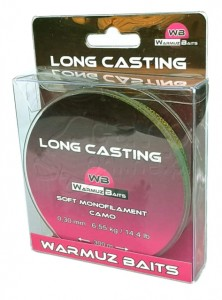 WARMUZ BAITS  Żyłka Camo Long Casting 300 m / 0,30 mm