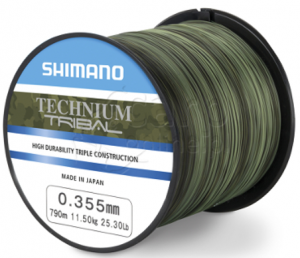 SHIMANO Technium Tribal 790m 0,355mm 11,5kg - Żyłka